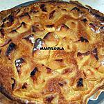recette Tarte pommes/poires flambée