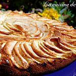 recette Moelleux aux pommes et citron
