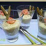 recette Mousse d'asperges
