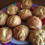 recette Muffins pomme-cannelle
