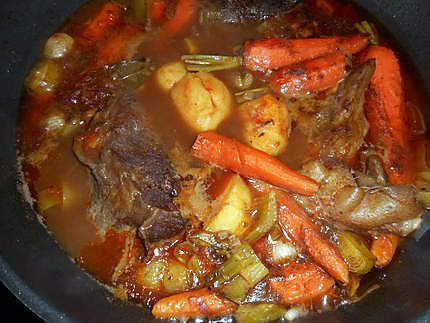 Recette de paleron aux carottes fanes - Cuisiner fanes de carottes ...