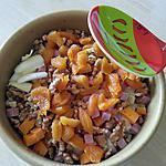 recette Petite salade d'endives sucrée-salée-colorée