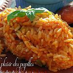 recette ~Riz aux tomates~
