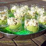 recette TARTARE GRANNY SMITH, TOURTEAU, AVOCAT