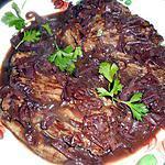 recette Bavette d aloyau a l échalote et vin rouge