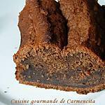 recette Gâteau moelleux chocolat bananes
