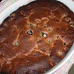 recette Gâteau aux cerises et amandes légèrement parfumé à la violette