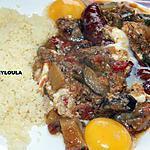 recette Ratatouille aux oeufs et saucisses de Montbéliard