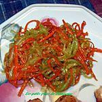 recette Salade de concombre et carotte au sésame