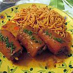 recette Carottes farcies à la viande-Défi tout orange N°2