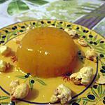 recette blanc manger tuttifruiti a l'abricot (defi tout orange N°3)