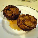 """recette """"Muffins-crêpes"""" aux poires"""