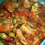 recette Sauté de veau aux blettes