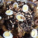 recette Tajine d'agneau (fête du mouton 2014)