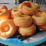 recette Minis donuts au chorizo, mozzarella