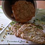 recette gâteau croquant à la pistache