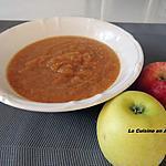 recette Compote de pommes, cannelle dans le Soup & CO