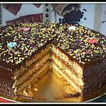 recette gâteau a la crème de châtaigne et chocolat