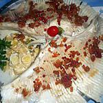 Ailes de raie à la fondue de poireaux