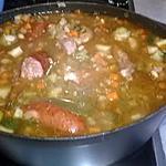 recette soupe de légumes aux parfums de mon enfance ,recette de grand -mère