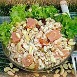 recette Taboulé de chou fleur au saumon