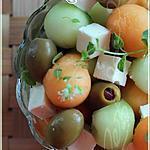 recette ~Antipasti feta-frutti~