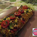 recette Cake salé au pain rassi et fin de vie alimentaire