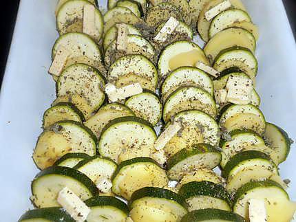 gratin de courgette et pomme de terre 430