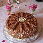 Gâteau aux poires et moka