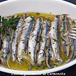 recette Anchois marinés
