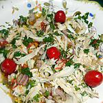 Salade de raie sauce au citron