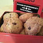 recette Cookies épices et orangettes
