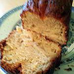 recette Cake léger pommes/fleur d'oranger