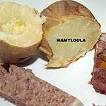 recette Pommes de terre au four (pommes de terre en robe des champs)