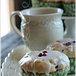 recette ~Muffins aux framboises et citron~