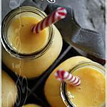 recette ~Smoothie à la pêche et à l'abricot