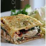 recette ~Lasagne au poulet à la césar~