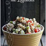 recette ~Taboulé de quinoa aux fines herbes~