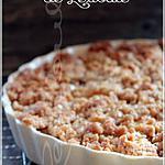 recette ~Croustade aux pommes à l'érable