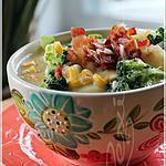 recette ~Chaudrée de maïs au bacon~