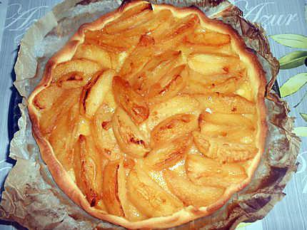 Tarte aux pommes meringuée 430
