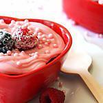 recette Cupcake coeur de framboise