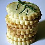 recette Sablés au romarin