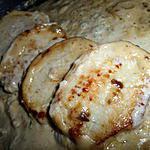 recette Steack de porc au roquefort