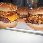 recette Hamburger aux galettes de pomme de terre