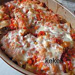 recette Cannellonis farcis aux légumes