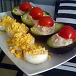 recette Avocats farcis aux crevettes cocktail