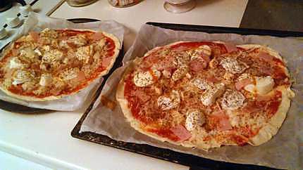 recette de pizza vite fait maison