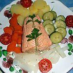 recette Saumon cuit vapeur,a l aioli