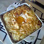 recette 3 ème recettes anti-gaspi,petits gratins de purée à l'oeufs,